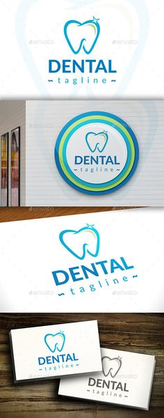 Dental Logo — Vector EPS #surgery #protection • Available here → https://graphicriver.net/item/dental-logo/11365810?ref=pxcr
