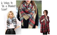 6 Ways to Tie a Blanket Scarf | SocialMoms Network - Where Influential Women Connect