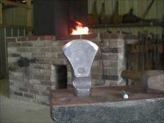 ▶ forging a Brian Brazeal syle hot-cut hardy - YouTube