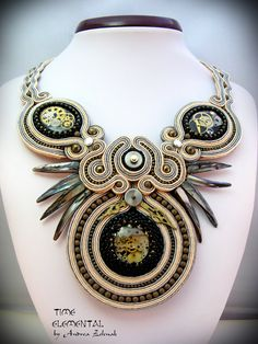TIME - Elemental Collection - Andrea Zelenak - Andrea.Z Style - soutache