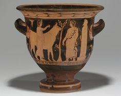 AN ATTIC RED-FIGURED BELL-KRATER -  ATTRIBUTED TO THE KADMOS PAINTER, CIRCA 420 B.C.