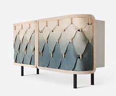 We are obsessed with this #cabinet designed by students #JumpholSocharoentham and #PakawatVijaykadga for their final project in #furniture #design at King Mongkut's Institute of Technology Ladkrabang in Thailand.