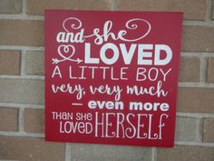 Children Sign/And She Loved A Little Boy Very by DAWNSPAINTING
