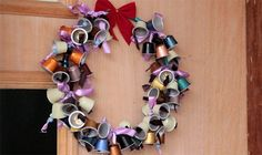 K Cup Crafts, Diy And Crafts, Nespresso, Christmas Crafts, Christmas Decorations, Xmas Gifts, Easy Diy, Recycling, Creations