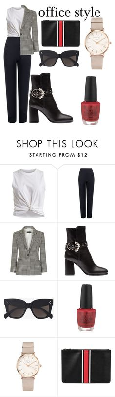 """""""#399"""" by delibabyblue on Polyvore featuring Vila Milano, WearAll, ESCADA, CÉLINE, OPI, ROSEFIELD and Givenchy"""