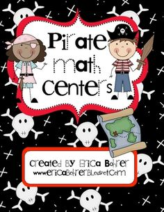 Pirate Math Centers - Common Core Based