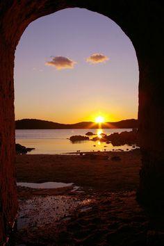 Caprera, tramonto