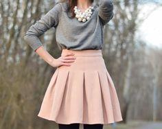 fresshion pink, grey, white, black
