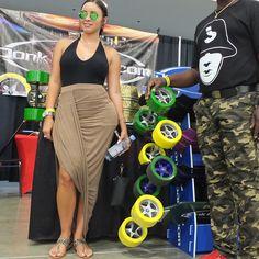 #sexy #skateboard #longboard #DonkBoard @jabbawockeez #miami #fogiatofest  www.DonkBoard.com