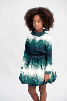 MOTORETA Colette skirt in Landscape