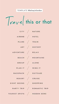 Traveling or want travel inspo? We got you covered whether you are flying solo o… Traveling or want travel inspo? We got you covered whether you are flying solo or planning a girls getaway. Come explore with the Earth Below Girls. Ideas De Instagram Story, Instagram Story Questions, Instagram Story Template, Instagram Templates, Instagram Games, Would You Rather Questions, Fun Questions To Ask, This Or That Questions, This Or That Game
