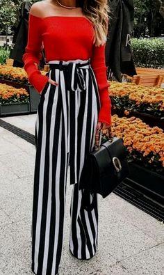 77bf58e3a05522 Shop Date Night Dresses Pantaloni A Righe, Stilisti, Abiti Estivi Carini,  Moda,