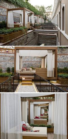 These Hotel Rooms In Istanbul Have A Small Bridge To A Private Cabana