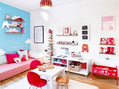 Fint rum och kul barnkök
