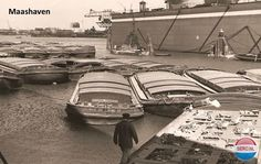 Maashaven Rotterdam (jaartal: 1950 tot 1960) - Foto's SERC