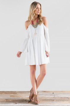 Eloise Cold Shoulder Dress