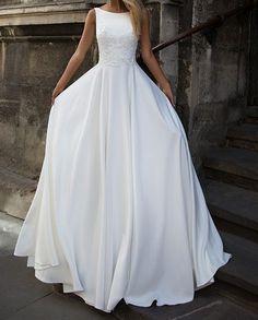 White Prom Dress,Lace Prom Dress,Fashion Bridal Dress,Sexy Party