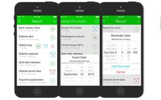 Recur #appstowatch #mobile #apps #trends