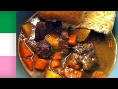 Here is Knockout Kitchen's take on a Newfoundland traditional recipe, Newfoundland Moose Stew. A typical moose stew can't be beat! It typically doesn't contain stock or wine but with this recipe I just wanted to try something different with an old staple. Hope you all enjoy the recipe.