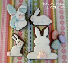 Easter cookies by Jill FCS