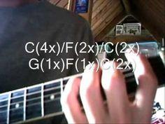 Eenvoudige gitaarles beginners slag