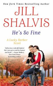 Perfect Fall reading--now on sale for $1.99.  HE'S SO FINE by @jillshalvis #LuckyHarbor