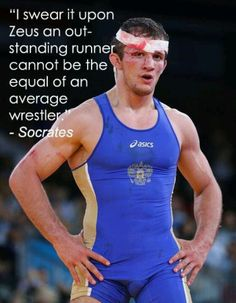 Runners may be crazy, but we Wrestler... Are flat psycho :D