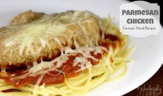 Freezer Meal Recipe: Parmesan Chicken
