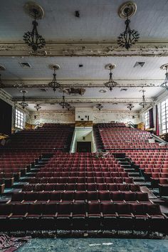 Abandoned theater by Erin Watson
