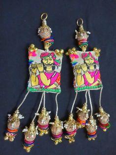 Handmade Picture Tassels Bell Tassels BOHO Decoration