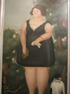 Fernando Botero 'Retrato de Cecilia', (Portrait of Cecilia)