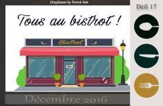 Tous au bistrot 12/16 Nintendo Wii, Logos, Drink, Good Mood, Projects, Recipes, Logo