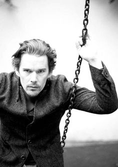 Ethan Hawke / Black and White Photography