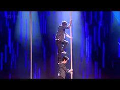Royal Variety Performance 2011 - Base Berlin Amazing athletic chinese pole performance