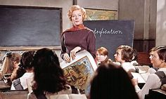 The Prime of Miss Jean Brodie was a great movie buit the book just didn't do it for me. Maybe it deserves another read . .