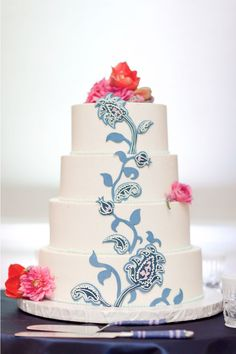 I am completely head over heels in love with this cake.