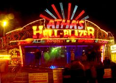 The Waltzers at Hull Fair by Andy Beecroft, via Geograph