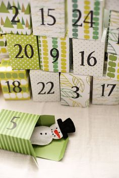 1000+ images about Christmas Advent Calendars... on Pinterest | Advent ...