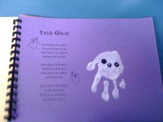 Handprint Art Book October
