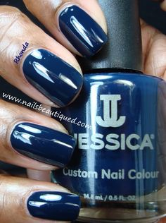 Jessica Fall 2013 A Night At the Opera Collection, Blue Aria | Nails Beautiqued.