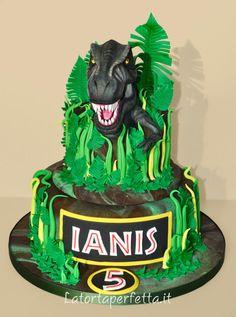 T rex cake - Cake by La torta perfetta