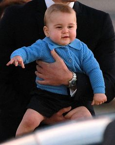 The Many Faces of Prince George: We can't get enough of the adorable Prince George!