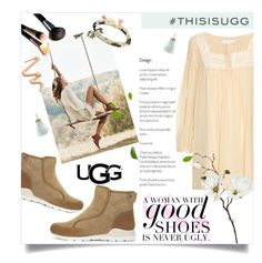 """""""Play With Prints In UGG: Contest Entry"""" by einn-enna ❤ liked on Polyvore featuring UGG Australia, See by Chloé, Shashi, Mary Louise Designs, Dermablend and thisisugg"""