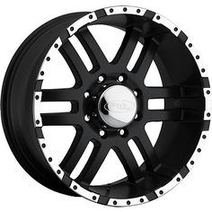 17x9 Black American Eagle 79 6x5.5 -12 Wheels Federal Couragia MT LT35X12.5R17