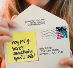 Personalization of direct mail shows high responses even in a slow economy.