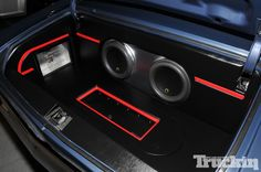 chevelle car audio trunk spring break nationals