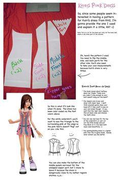 Kairi - Kingdom Hearts • WIP - Dress | Cosplay Amino