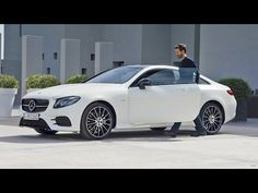 Mercedes E Class Coupe, Mercedes Benz Cars, New E Class, Car Goals, Cabriolet, Car Videos, Car Show, Tv, Luxury Cars