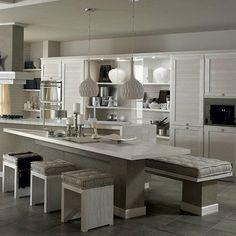Solid wood #kitchen LE TERRE DI TOSCANA belgioioso by Zappalorto | #design Moreno Zappalorto, Laura Sarchielli