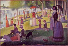 SeuratA Sunday Afternoon on the Island of La Grande Jatte  1884-86  Oil on canvas  207.5 x 308 cm  Art Institute of Chicago